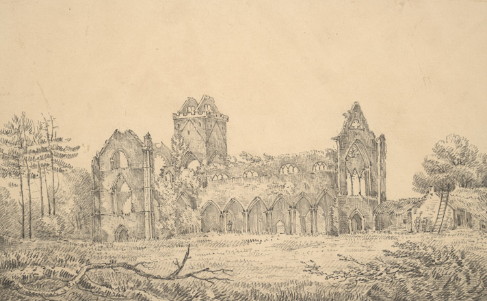 New Abbey in the Abbey of Sweethearths, Galloway 103.a